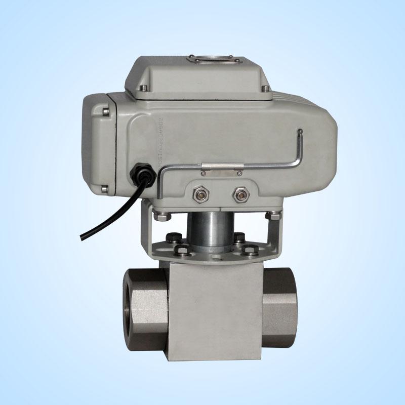 高压电动球阀DN40